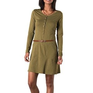 Horny Toad Button Front Rooney Dress with Pockets